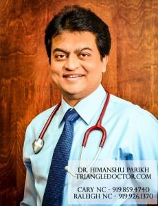 Dr Himanshu Parikh - Cary NC / Raleigh NC - TriangleDoctor.com